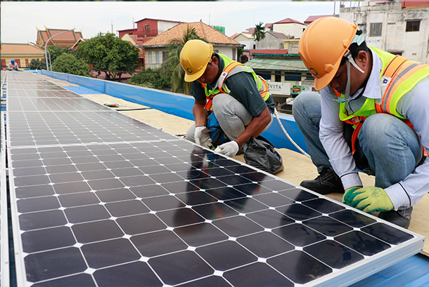 Solar Energy System In Cambodia Comin Asia